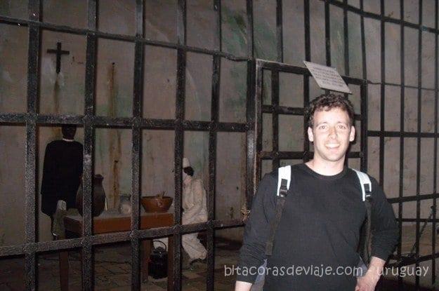 en la carcel de la Fortaleza del Cerro de Montevideo