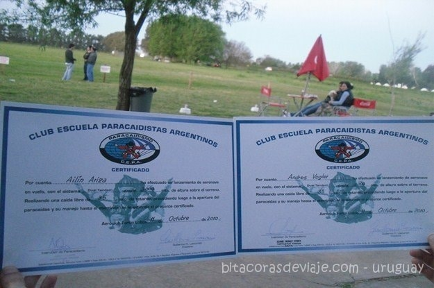 Certificado Salto Bautismo