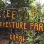 Bitácora 13, Día 16 y 17, Tree Top Adventure Park Krabi