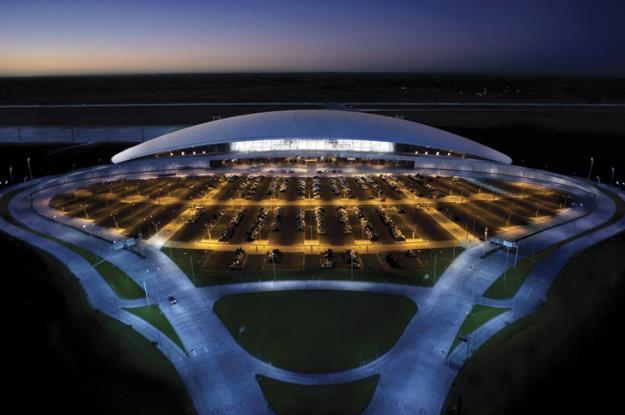 A pesar de ser un aeropuerto pequeño, ha sido electo entre los mejores del mundo