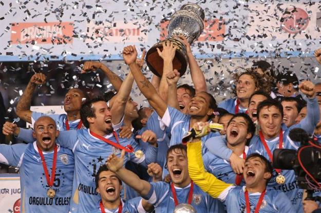 Uruguay Campeón de América 2011