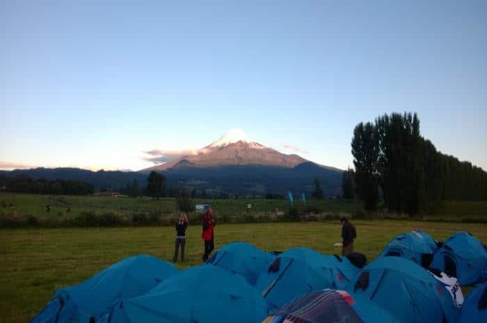 Atardecer en el Camp 1. Una belleza!