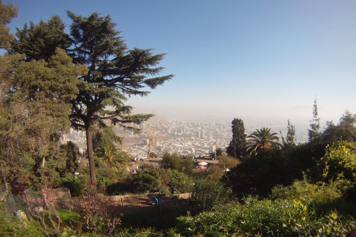 Santiago desde el cerro San Cristobal