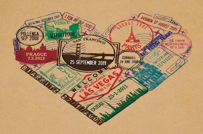 sellar el pasaporte