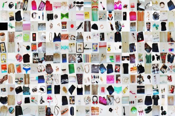 Estas son todas las cosas que yo tenía en mi primer inventario.