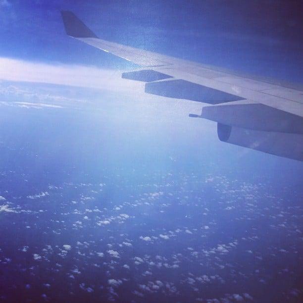 Volando a India