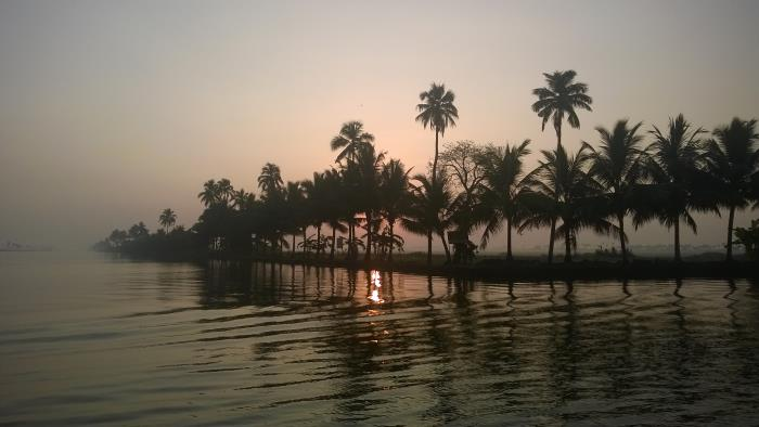backwaters en kerala