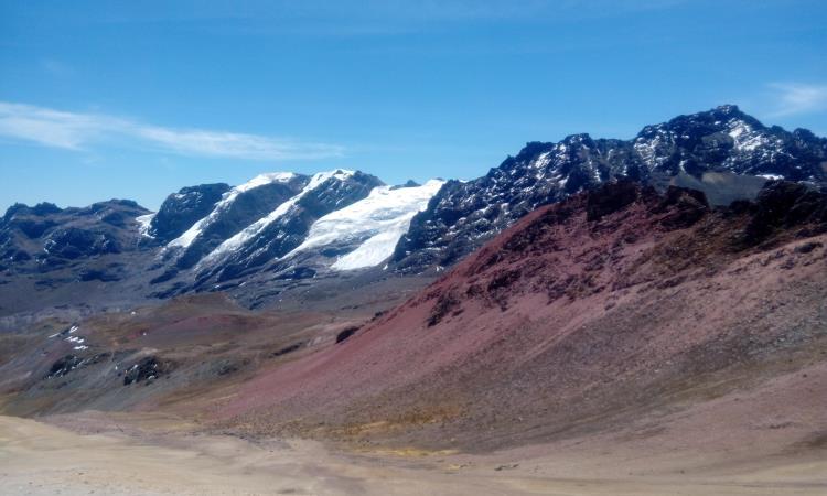 sendero a la montaña