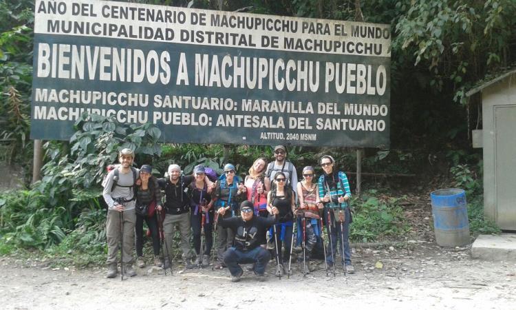 Puente de acceso a Machu Picchu