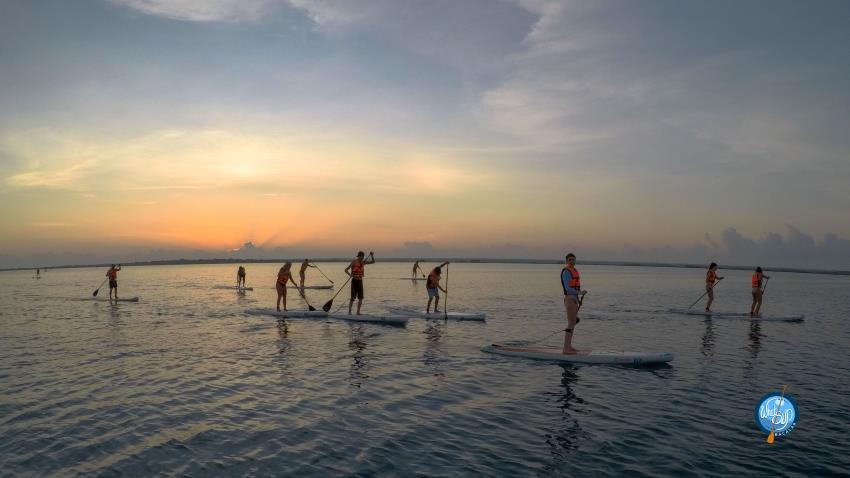 Standup Paddle al amanecer