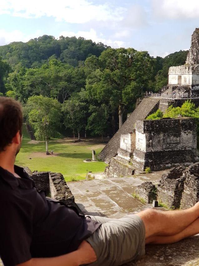 Plaza mayor Tikal