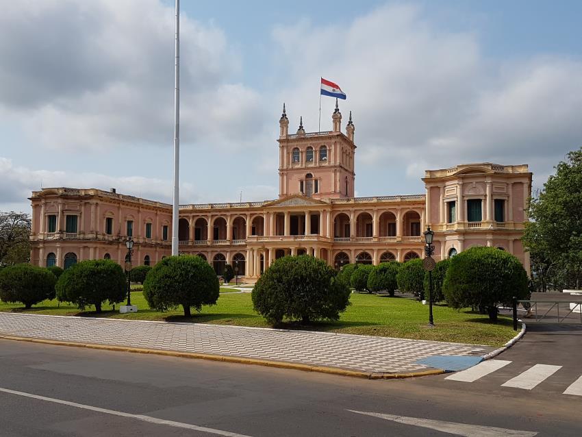 Palacio de gobierno Paraguay