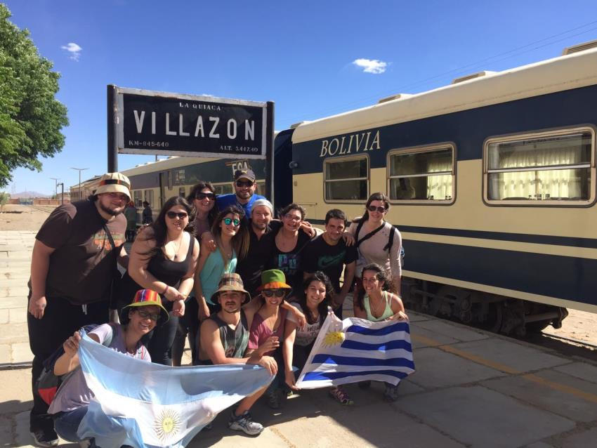 Villazón tren