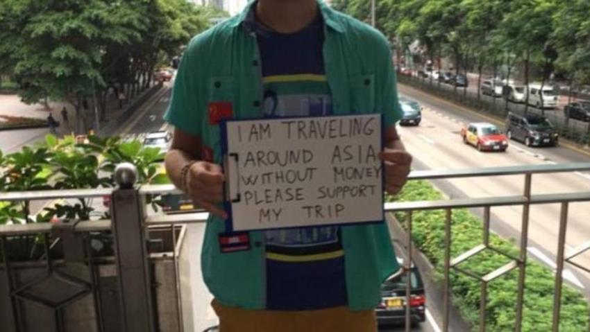 begpackers en Asia