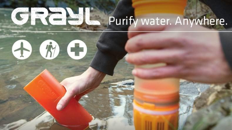 botellas con filtro cuando no tienes puntos de recarga de agua