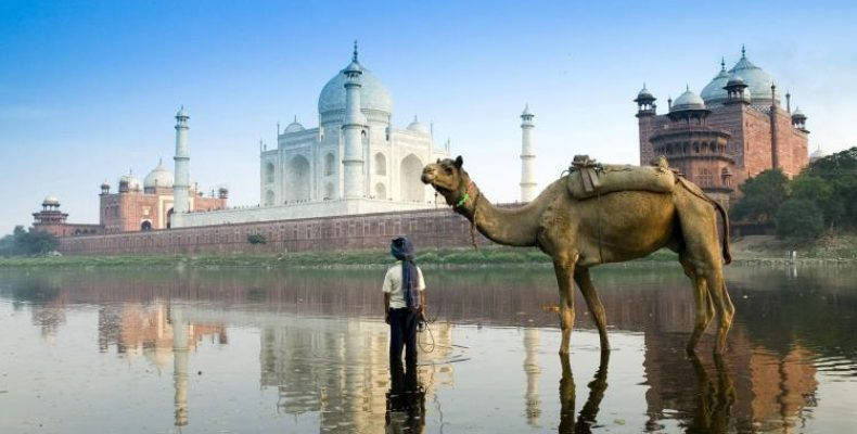 Esta imagen del Taj Mahal era la que quer?a obtener.